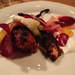 Tandoori Octopus, Beets, Pink Onions, Yogurt and Fennel